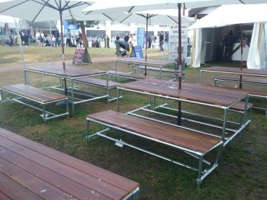 Event Picnic Seating and Bar Furniture Package
