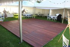Dance Floor - Outdoor Jarrah 1.2m x 1.5m Sections