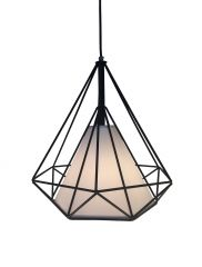Pendant Light - Cleopatra Black - Install Price