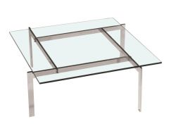 Coffee Table - Square Glass