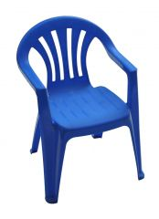 Chair - Childrens Plastic Multiple Colours