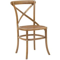 Chair - Cross Back Beach Walnut