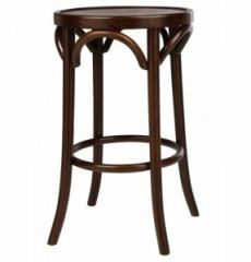 Bar Stool - Bentwood Dark Oak