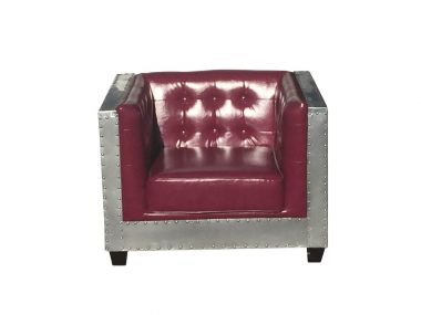 Lounge - Aviator Burgundy 1 Seater
