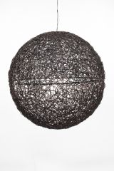 Wicker Ball 35cm - Brown