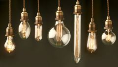 Vintage Light Bulbs - Assorted Range - Price per Bulb Installed