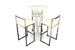 Cocktail Package - Vine Tables White & Bar Stools