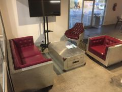 Lounge Package - Aviator Burgundy