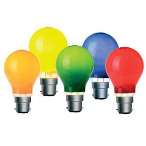 Festoon Light Globe 30w - Coloured