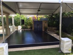 Pool Cover - Black Top Formply Finish