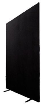 Display Partition 1.8m x 1.2m - Black