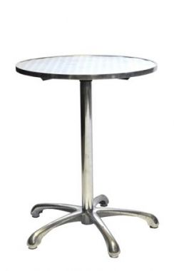 Round Table - Cafe Aluminium 60cm