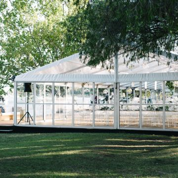 Marquee - Matilda Bay 10m Clear Wedding Marquee