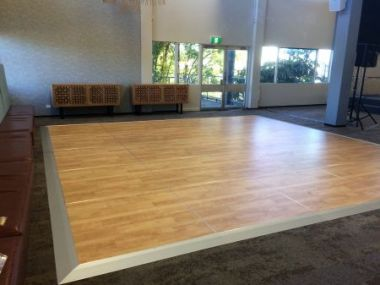 Dance Floor - Indoor Northern Birch - 1.2m x 1.2m Sections