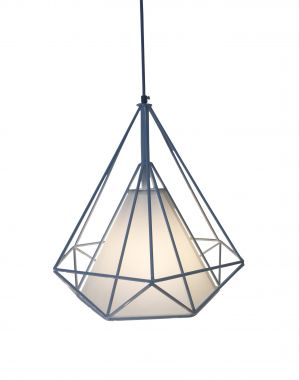 Pendant Light - Cleopatra White - Install Price