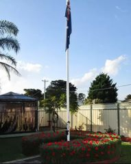 Flagpole Hire - ANZAC DAY