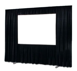 Projection Screen - Fast Fold 8' x 6' (Front or Rear Projection)