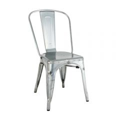 Chair - Tolix - Galvanised Rustic